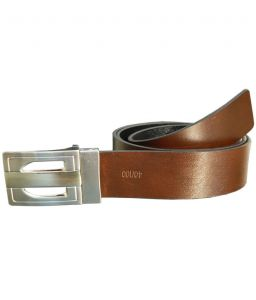 Sondagar Arts Italian Leather Black And Brown Mens Belt_sab44