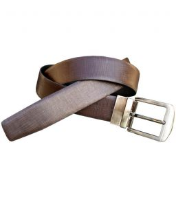 Sondagar Arts Italian Leather Black And Brown Mens Belt_sab49
