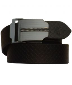 Sondagar Arts Black Leather Autolock Formal Mens Belt-sab68