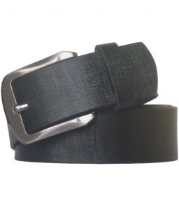 Sondagar Arts Black Casual Leather Belt For Mens-sab76