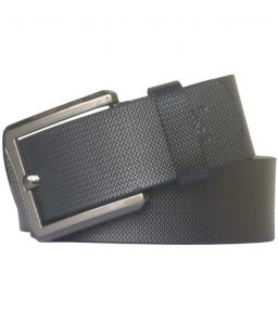 Sondagar Arts Black Casual Leather Belt For Mens-sab78