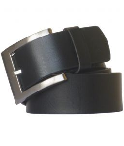 Sondagar Arts Black Casual Leather Belt For Mens-sab86