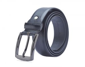 Sondagar Arts Formal Black Genuine Leather Belt For Mens
