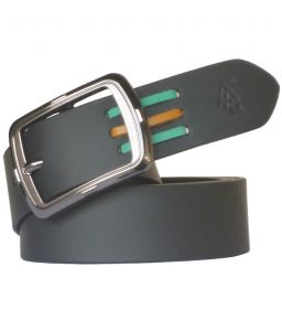 "Sondagar Arts Black Leather Formal Men""s Belt Code-sab95"