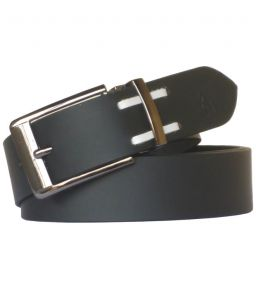"Sondagar Arts Black Leather Formal Men""s Belt Code-sab96"
