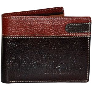 Sondagar Arts Brown Formal Leather Wallet For Mens