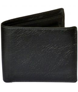 Sondagar Arts Mens Black Colour Genuine Leather Wallet