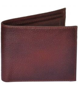 Sondagar Arts Brown Coloured Mens Leather Wallet