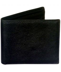 Sondagar Arts Black Colour Leather Mens Wallet
