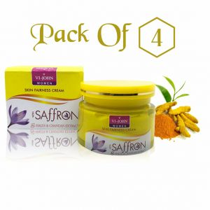 Globus,Garnier,Davidoff,Vi John Skin Care - Saffron Fairness Cream Haldi Chandan Pack Of 4