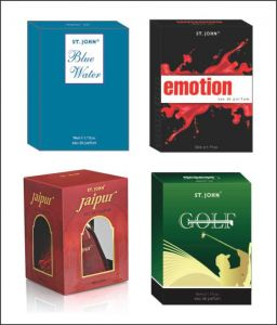 Perfumes - St.John-Vijohn EMOTIONS  & GOLF & BLUE WATER  & NEW JAIPUR WITH TASTER-(Code-VJ155)