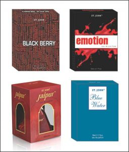 St.john-vijohn Emotions & Blue Water & Black Berry & New Jaipur With Taster-(code-vj160)