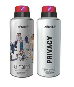 Benetton,Clinique,Maybelline,Alba Botanica,Archies Personal Care & Beauty - Archies  Deo City Gang & Privacy-(Code-VJ553)