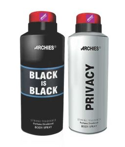Archies Deo Black Is Bkack & Privacy-(code-vj558)
