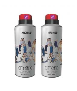 Benetton,Wow,Gucci,Globus,Archies Personal Care & Beauty - Archies  Deo City Gang (Set of 2)-(Code-VJ577)