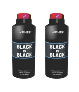 Archies Deo Black Is Black (set Of 2)-(code-vj579)