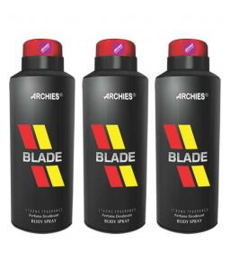 Archies Personal Care & Beauty ,Health & Fitness  - Archies  Deo Blade (Set of 3)-(Code-VJ583)