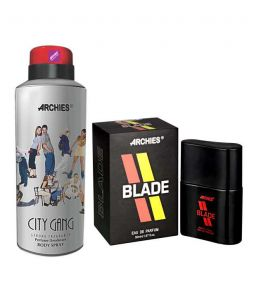 Archies Personal Care & Beauty - Archies  Deo City Gang & Pefume Blade-(Code-VJ597)