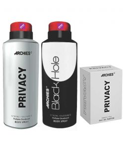 Archies Deo Privacy & Black Hole + Perfume Privacy-(code-vj621)