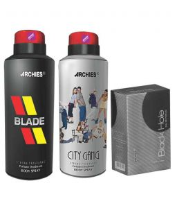 Archies Deo City Gang & Blade + Perfume Black Hole-(code-vj642)