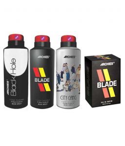 Archies Deo City Gang & Blade & Black Hole + Perfume Blade-(code-vj664)