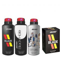 Archies Deo City Gang & Blade & Black Hole + Perfume Blade-(code-vj667)