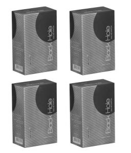 Archies Personal Care & Beauty - Archies  Perfume Black Hole (Set of 4)-(Code-VJ703)