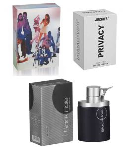 Archies Perfumes - Archies  Perfume City Gang & Black Hole & Privacy-(Code-VJ710)