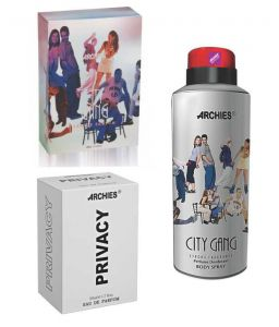 Archies Perfume City Gang & Privacy & Deo City Gang-(code-vj716)