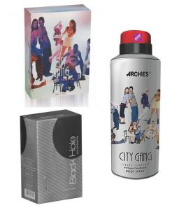 Archies Perfume City Gang & Black Hole & Deo City Gang-(code-vj717)