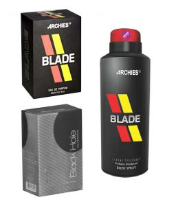 Archies Perfume Blade & Black Hole & Deo Blade-(code-vj727)