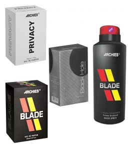 Archies Perfume Blade & Black Hole & Privacy & Deo Blade-(code-vj753)