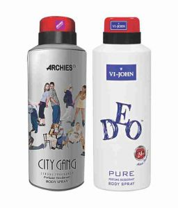Nike,Jovan,Adidas,Aveeno,Ag,Archies Personal Care & Beauty - Archies  Deo City Gang & Vijohn Deo Energetic-(Code-VJ826)