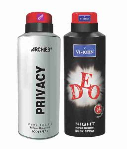 Archies Deodorants - Archies  Deo Privacy & Vijohn Deo Night-(Code-VJ835)