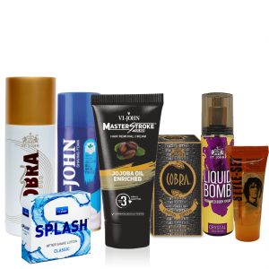 vi john,dior,head & shoulders,dove,Uni Shaving, Grooming - Vi-John Luxurious Men Grooming Kit- (Code-MSGK31)