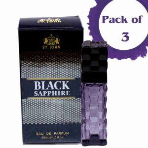 St.john Perfume For Women 30ml Black Sapphire (pack 3)