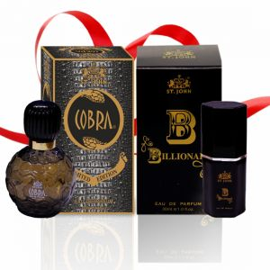 Couple Perfume Gift Set Cobra 60ml & B Billionair (pack 2)
