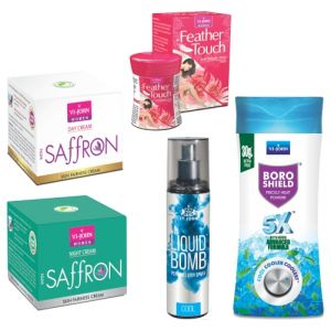 benetton,nova,garnier,vi john Deodorants (Women's) - VI-JOHN SUMMER WOMEN CARE KIT- (Code-VJ1869)