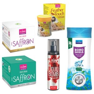 Vi John,Bourjois,Himalaya,Clinique Personal Care & Beauty - VI-JOHN SUMMER WOMEN CARE KIT- (Code-VJ1885)