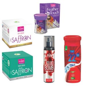 Benetton,Vi John,Bourjois,Alba Botanica,Nyx Personal Care & Beauty - VI-JOHN SUMMER WOMEN CARE KIT- (Code-VJ1902)
