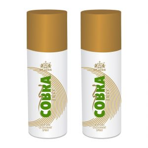 Garnier,Vi John,Maybelline,Dior Deodorants - Deo Cobra  Envy 150ml Pack of 2