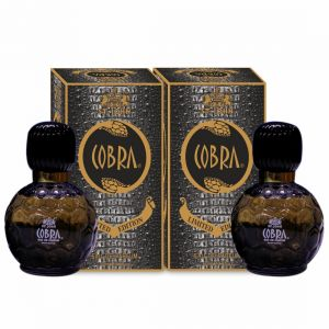 Globus,Garnier,Bourjois,Vi John,Nova Personal Care & Beauty - Cobra Limited Edition Perfume For Men 60 ml (PACK OF 2)