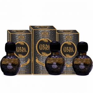 Benetton,Vi John,Kawachi,Kent,3m Perfumes - Cobra Limited Edition Perfume For Men 60 ml  (PACK OF 3)