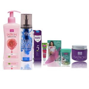 Benetton,Vi John,Bourjois,Alba Botanica Personal Care & Beauty - VI-JOHN Women Winter Care Kit- (Code-WWK009)