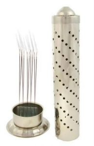 New Stainless Steel Agarbatti Stand Holder For Puja