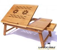 Dh Multipurpose Wooden Foldable Laptop Table