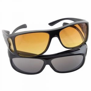 Sunglasses (Unisex) - Trioflextech HD Vision Wrap Around Sunglass- Set Of 2
