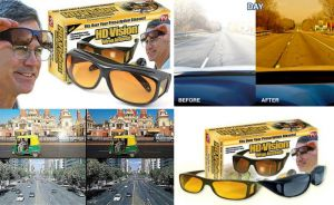 HD Vision Wrap Around Sunglass- Set Of 2