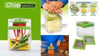 New Chop Magic Chopper Slicer Chop, Mince, Cube, Slice & Dice Just In Sec.