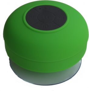 Quace Shower Bluetooth Wireless Mobile/tablet Speaker (green, Single Unit Channel)